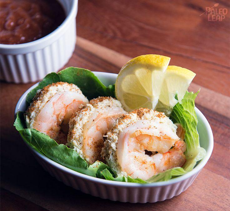 Crab Stuffed Shrimp (Paleo/Whole30)