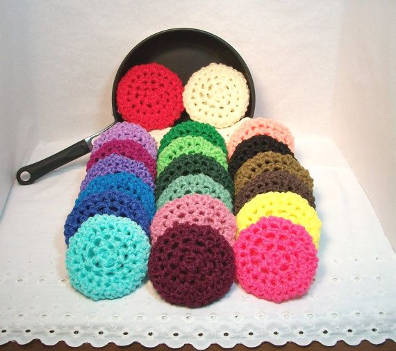 25 best Crochet Kitchen Scrubbers - Like Grandma Lucille used to ...