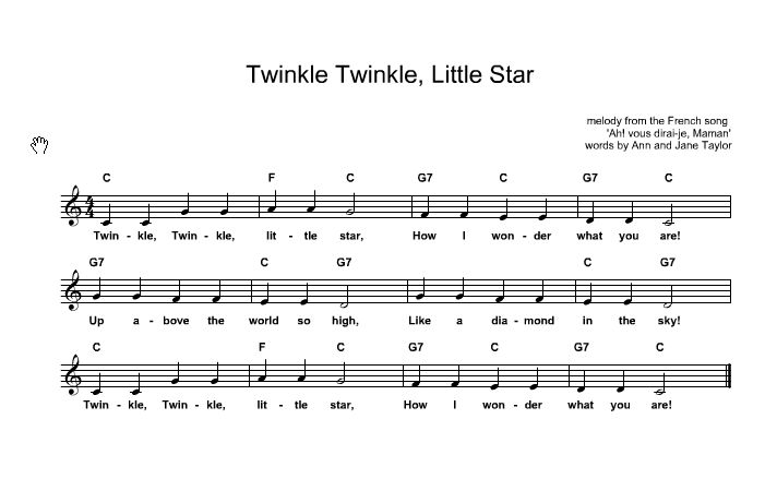 Twinkle Twinkle Little Star Lyrics And Chords : ukelele : Pinterest : Lyrics, Twinkle twinkle ...