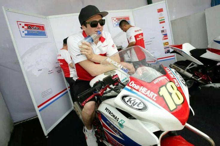 Asia dream cup 2013 nick waters Australia petronas asia honda arai helmets moto GP Australian superbikes asbk