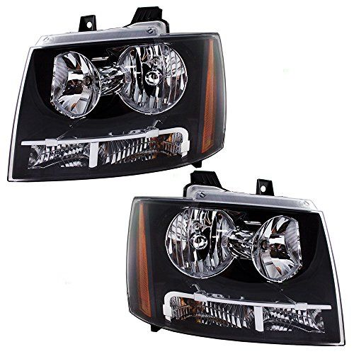 Driver and Passenger Headlights Headlamps Replacement for Chevrolet SUV Pickup Truck 20760578 20760579. For product info go to:  https://www.caraccessoriesonlinemarket.com/driver-and-passenger-headlights-headlamps-replacement-for-chevrolet-suv-pickup-truck-20760578-20760579/