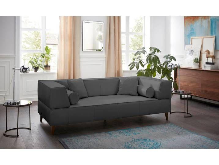 Alte Gerberei 3er Sofa Marten Grau Inkl Zierkissen Haus Deko Zierkissen Gerberei