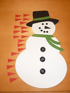 Great for school parties! Pin the Nose on the Snowman