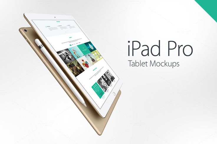 iPad Pro Mockups by YD-LABS on Creative Market