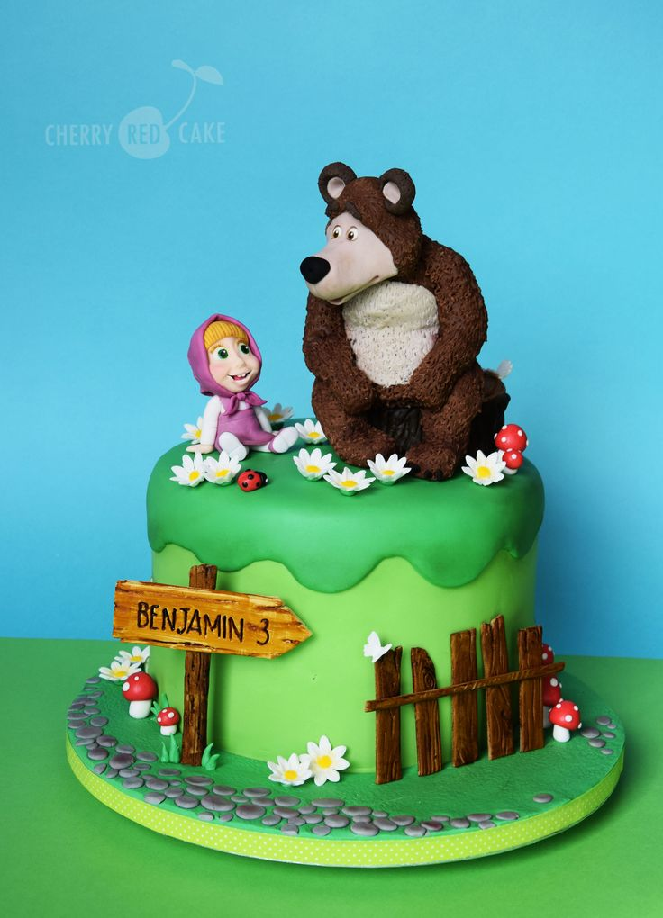 Masha And The Bear Cake Masha Et Michka G 226 Teau Masha