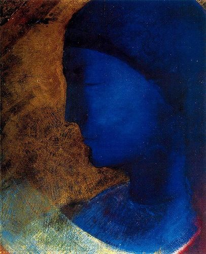 Golden Cell by Odilon redon Unfortunately the colors in reproduction never capture the radiance of his work.