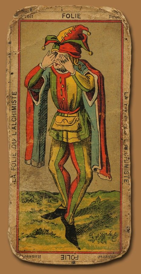 Old Tarot Cards Full Deck The High Priestess Stock: Celtic Image Research