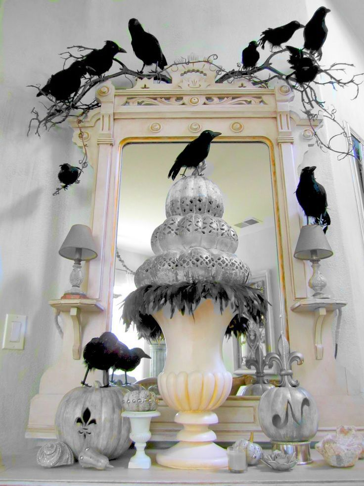 25 diy halloween decorating tips there are some decorating ideas that are very unique i like the crows - Elegant Halloween Decorations