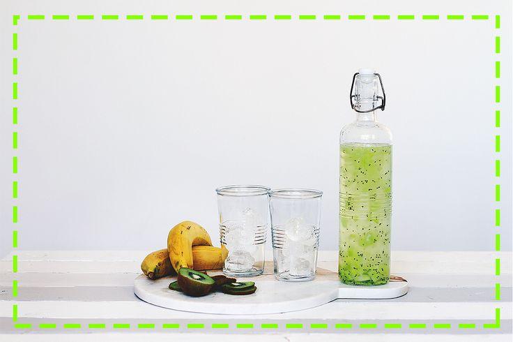 Spragnione? Zamiast zwykłej wody możecie zrobić taką! Pyszną i nasyconą owocowym miąższem! ;)