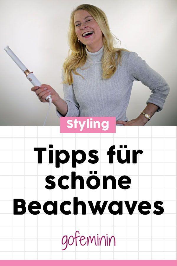 Lockenstab-Test: Wir verraten euch, wie ihr ganz einfach wunderschöne Beachwaves zaubern könnt! #lockenstab #lockenstabtest #beachwaves #hairstyle #curls