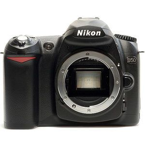 Is the Nikon D50 a Full Frame camera?