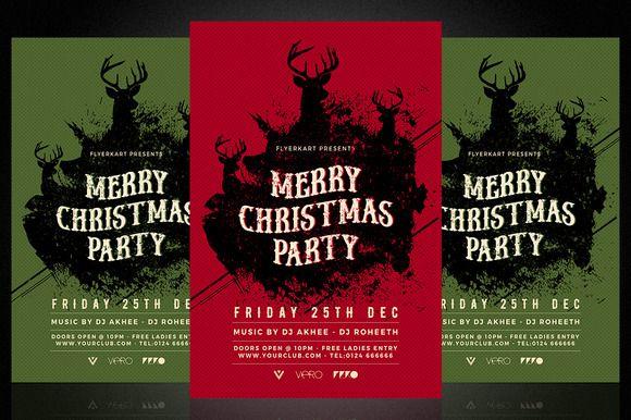 Christmas Flyer by Flyerkart on @creativemarket