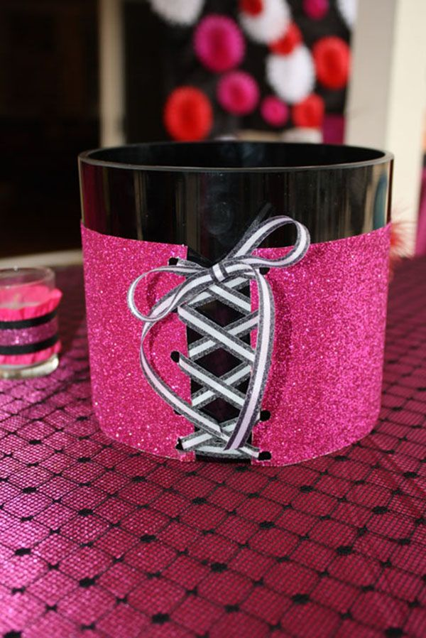 Burleque party decorations- B. Lovely Events