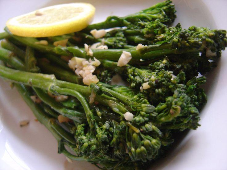 Recipe Corner: Broccolini in lemon parmesan sauce- I made this tonight ...