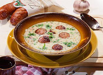 Zupa Wiejska Z Kiełbasą Polską I Zacierką | SMAKI REGIONU