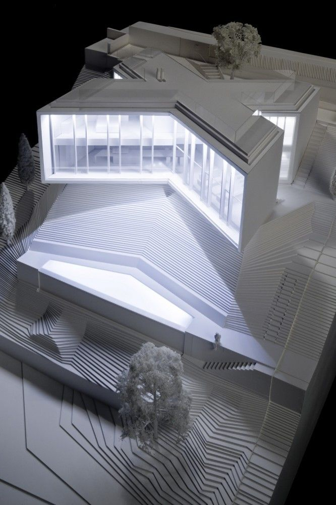 File: Models | House X by Cadaval & Sola-Morales                                                                                                                                                      Más