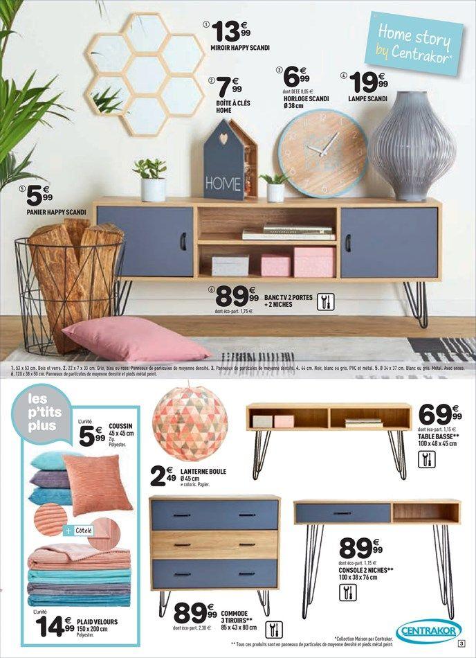 Catalogue et promotions de centrakor id es pour la for Catalogue decoration interieure