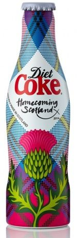 FoodBev.com | News | Coca-Cola reveals limited edition Diet Coke 'Homecoming Scotland' bottle