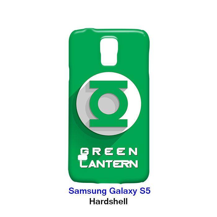 Green Lantern Superhero Samsung Galaxy S5 Hardshell Case