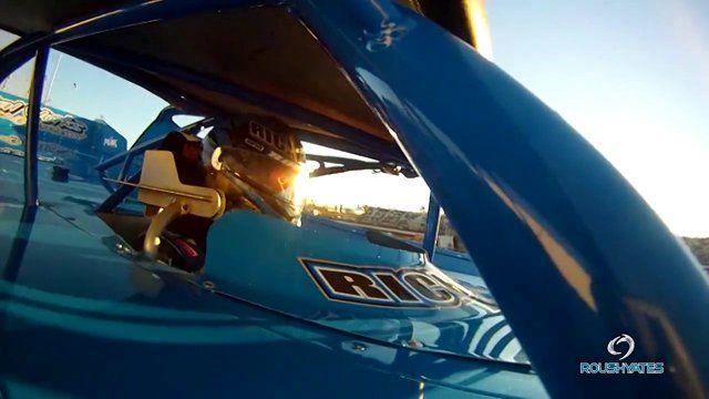 2012 Josh Richards Dirt Late Model Racing Action