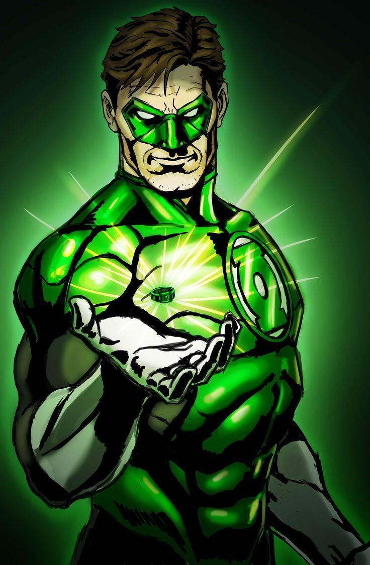 Beware my power, Green Lantern's light!