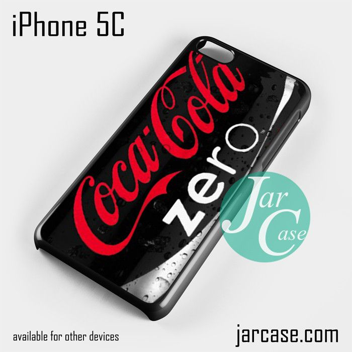 coca cola zero Phone case for iPhone 5C and other iPhone devices
