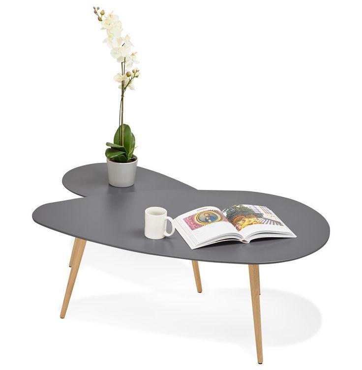 Les 25 meilleures id es de la cat gorie table gigogne scandinave sur pinterest canap gigogne Design interieur table basse en bois
