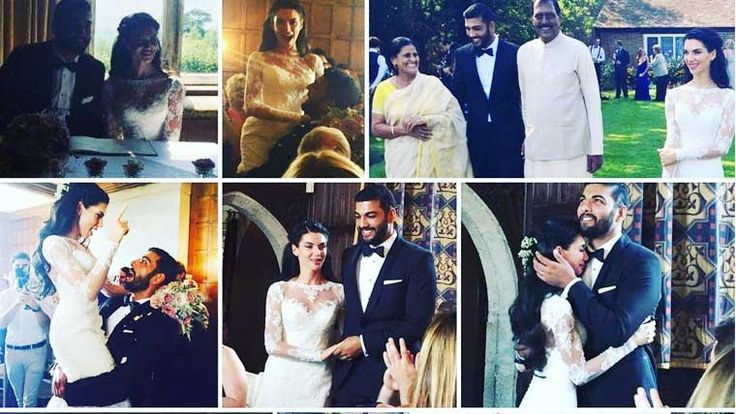 Model-actor #ParveshRana marries #ScarletWilson Model turned actor Parvesh Rana and dancer Scarlett Mellish Wilson tied the knot in London on August 25 in a hush-hush ceremony. They have been in a relationship for some time. For more pics and full story>http://weddingstreet.in #weddingstreet #weddingcollections #weddingplanners #weddingeventplanners #wedding #weddingrituals #Indianweddings #weddingstorekochi #weddingeventmakers #weddingjewellery #weddingstyles #trending #celebrityweddings