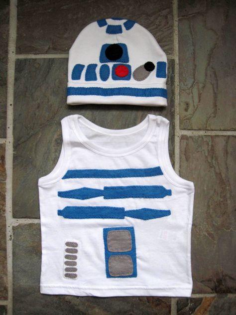 R2D2 Kinder Kostüm verkleiden Outfit Star Wars von GracesFavours