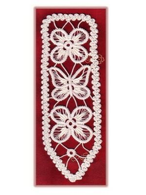 Bookmarks, Card Inserts  Romanian Point Lace by Elena