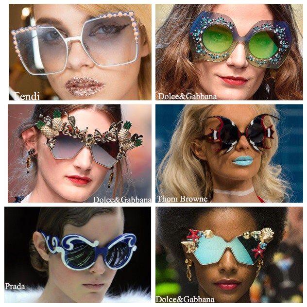 Statement Sunglasses Summer 2017