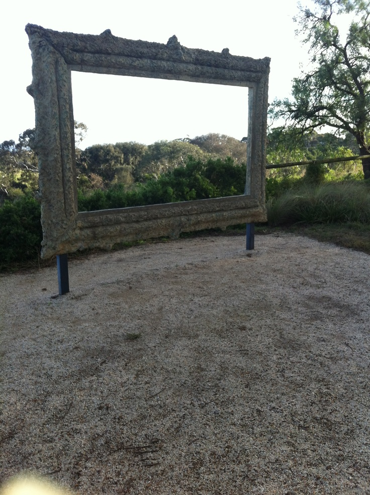 Framing the landscape - Werribee Mansion Victoria