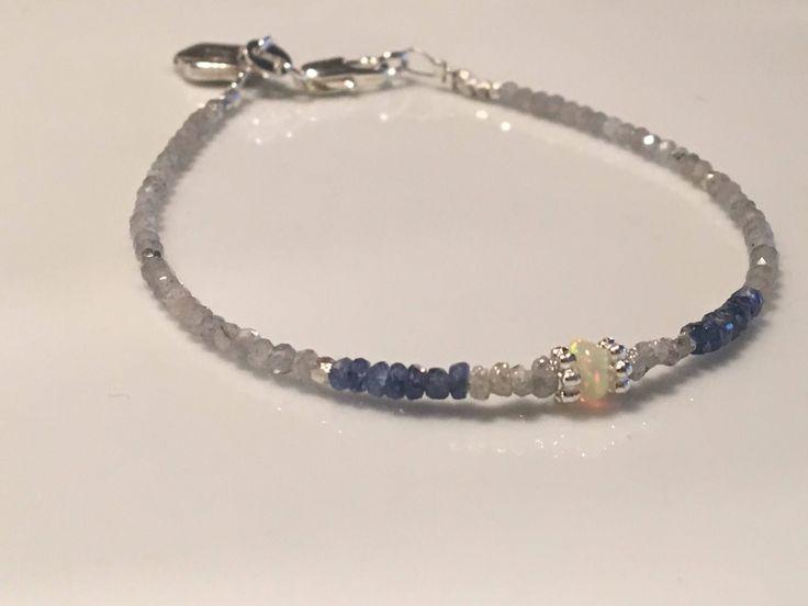 A personal favourite from my Etsy shop https://www.etsy.com/no-en/listing/559775615/natural-sapphire-rough-diamond-bracelet