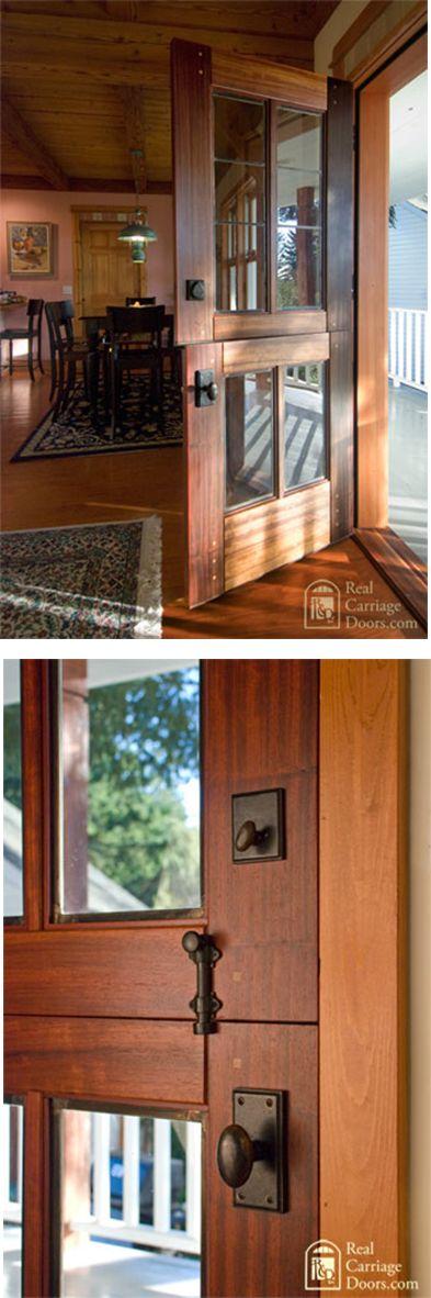 Rustic Back Doors : Best images about dutch door ideas on pinterest the