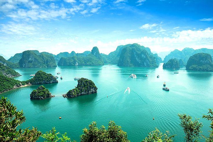 Ha Long-bukten #vietnam #halong #bukt #travel #resa #semester