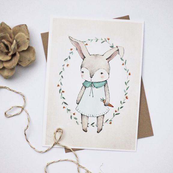 Free printable Bunny Illustrations