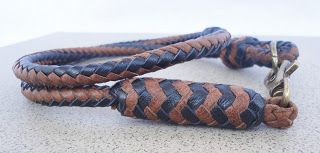 Pete Leather: Genuine Braided Leather Wallet Chain, Men's Keycha...