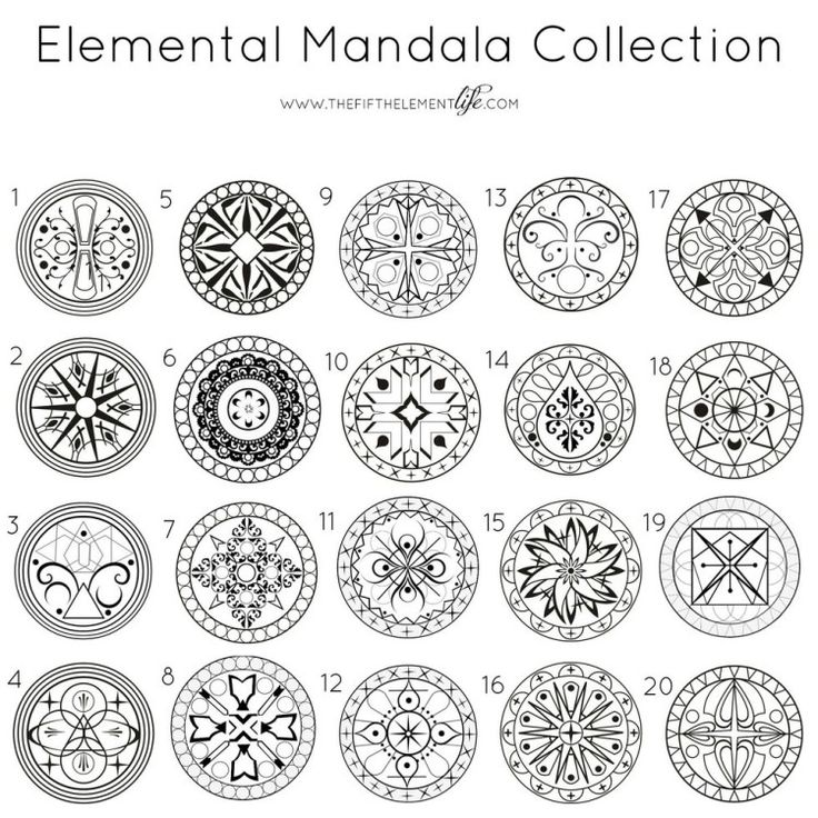 Scegli un mandala ... 20 immagini di mandala che potrebbero aiutarti a comprendere cosa stai vivendo e di cosa hai bisogno per ritrovare l'equilibrio