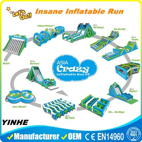 Inflatable Assault Course For Sale