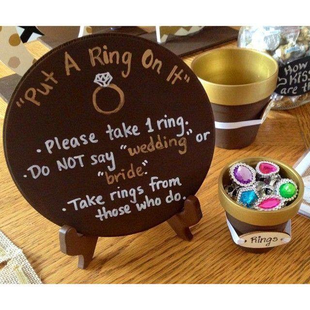 Love this bridal shower game! #WedPics #weddingapp #bridalshowergame