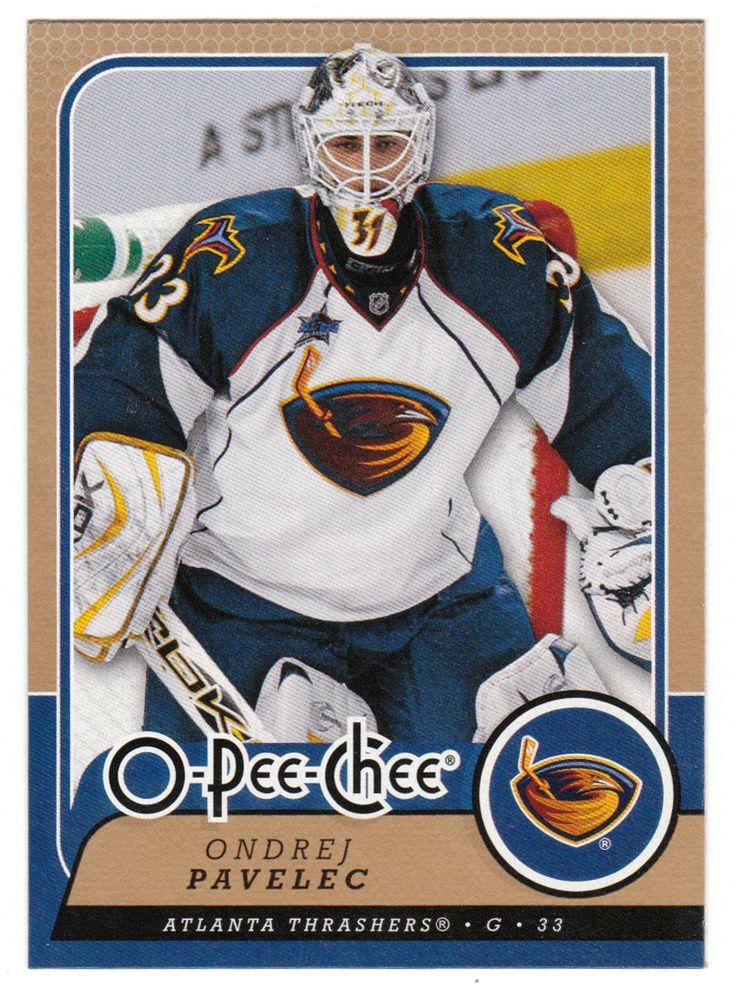 Ondrej Pavelec # 451 - 2008-09 O-Pee-Chee Hockey