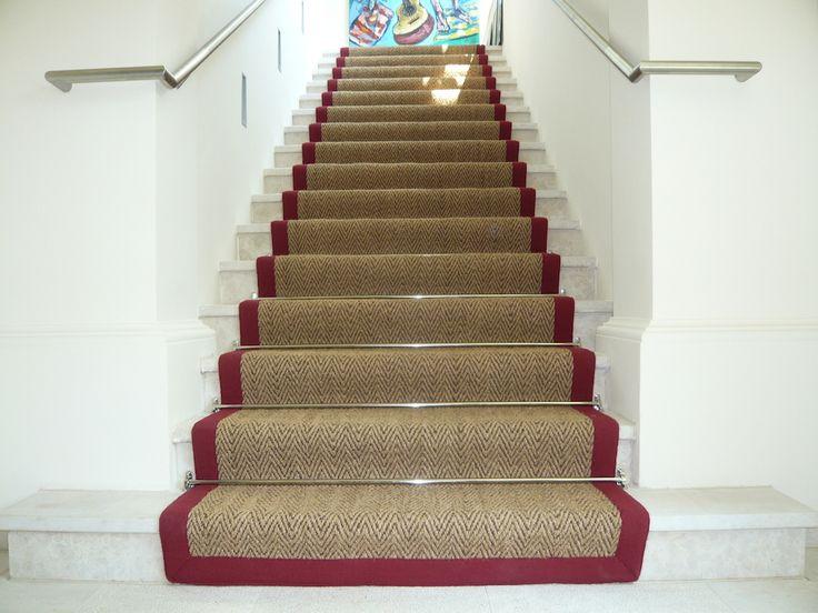 Teppich für treppen  Die 25+ besten Treppenläufer Ideen auf Pinterest | Treppenläufer ...