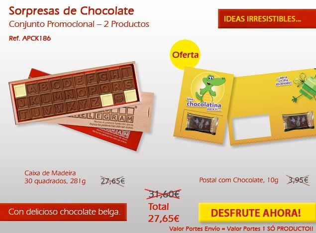 ¡Disfrutar de nuestras promociones y disfrutar de nuestros maravillosos chocolates!