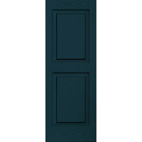 Indigo blue shutters for the home pinterest blue for Vinyl shutter paint lowes