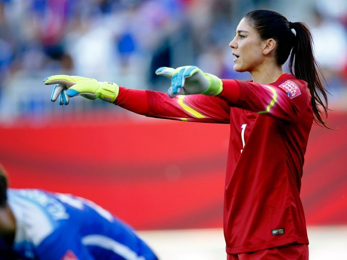 Armour: Hope Solo saga obscures Women's World Cup Women S World Cup #WomenSWorldCup