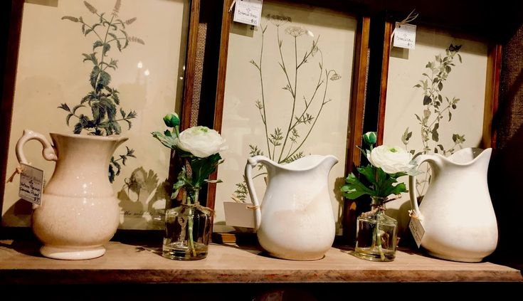 Lovely framed botanical prints.  Ballard & Blakely Hours: Tuesday - Saturday 10:00 a.m. to 5:00 p.m. 5021 West Lovers Lane Dallas, Texas 75209  For inquiries, please call shop during business hours. Sorry, we are unable to answer email inquiries.