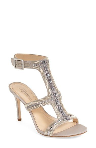 Imagine Vince Camuto 'Price' Beaded T-Strap Sandal (Women)