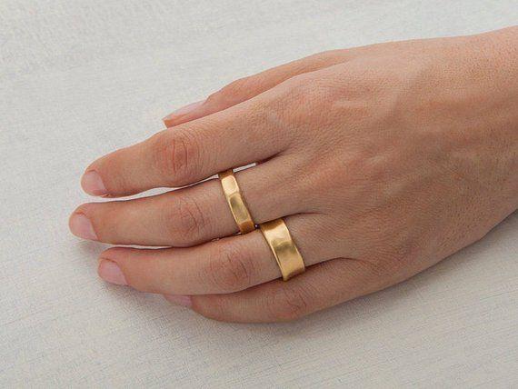 Mens Gold Wide Wedding Band Texture 18 Karat Yellow Gold Etsy Gold Wedding Band Thick Gold Wedding Band Band Rings Women