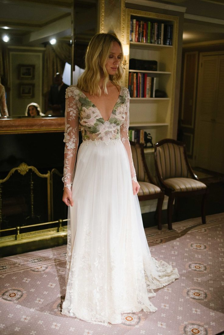 "New York Bridal Fashion Week 2016 | Claire Pettibone Couture, ""The Four Seasons Collection"" 
