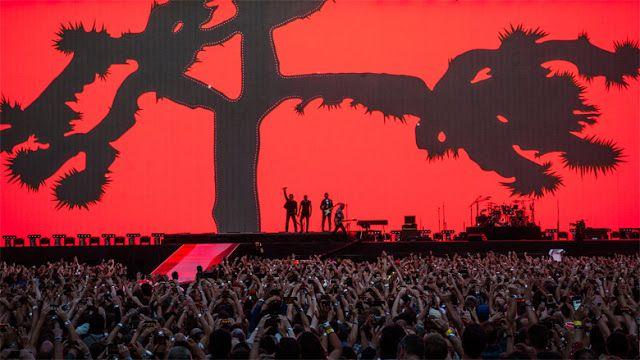 Shaun Swalue  of Adelaide: U2 fan blog: U2  The Joshua tree tour: Number 27 Barcelona Olym...